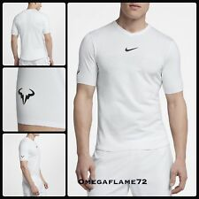 Nike Rafael Nadal AeroReact Rafa Tennis Polo Shirt, 888206-100, wimbledon Sz MED