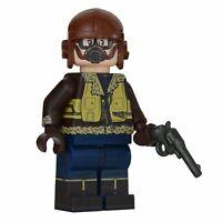 Lego Custom WW2 RAF PILOT minifigure - Full Body Printing NEW