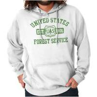 United States Forest Service National Park Adult Hooded Pullover Sweatshirt
