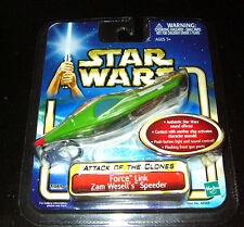 Star Wars Attack of the Clones Force Link Zam Wesell's Speeder KEYCHAIN