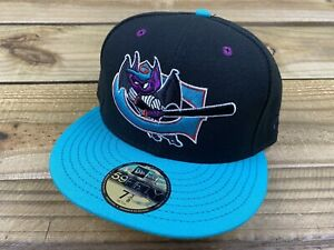 NWT New Era 59Fifty MiLB Greensboro Bats Fitted Hat Sz 7 3/8 Hat Club