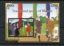 Bhutan 2015 MNH Traditional Sports of Bhutan 1v S/S Archery