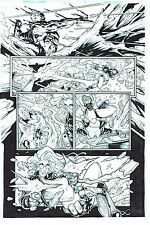 MARVEL ORIGINAL ARTWORK DEADPOOL Merc With a Mouth #11 Page 8 Art by BONG DAZO