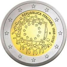 """2 euro commémorative  2015 ITALIE """"NEUVE UNC"""" Drapeau"""