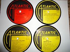 The J. Geils Band - Record Album Coaster Set - All Atlantic labels