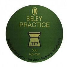 500 BISLEY Practice Flat Head .177 Pellets Air Rifle ( 4.5mm caliber gun new