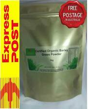 Certified Organic Pure Green Barley Grass Powder 1000gm Vegan
