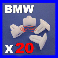 BMW SILL KICK PLATE TRIM STRIP CLIPS E30 E32 E34 E36 E38 E39 E46 Z4 3 5 7 X 20