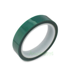 20mm x 33m(100ft) Green PET Tape High Temperature Heat Resistant For PCB Solder