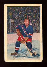 1952 53 PARKHURST HOCKEY #21 ALLAN STANLEY VG NEW YORK N Y RANGERS CARD FRE SHIP