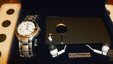 New Mens Bell & Rose Watch, iPhone 4/4S Cover, Earphone Boxed Gift Set MSRP $85.