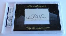 Andre Dawson 2012 Historic Autograph Why the Hall Not? PSA/DNA Chicago Cubs /13
