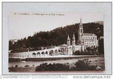 Postcard antique HEAVY - The Basilica and the Horseshoe