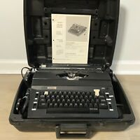 Vintage Sears Best CORRECTOR Portable Electric Typewriter, Case Manual EXCELLENT