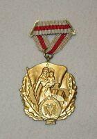 Orden Medaille ALBANIEN VOLKSREPUBLIK ORDEN EHRE FÜR DIE MUTTER 1. KLASSE !