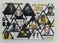 Britney Spears · Scream & Shout · original handsignierte Autogrammkarte ## RARIT
