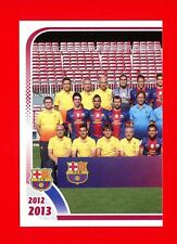 FC BARCELONA 2012-2013 Panini - Figurina-Sticker n. 2 - TEAM 1/3 -New
