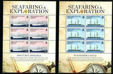 SoD BIOT 2009 Seafaring & Exploration set in sheetlets of 6 MNH SG 396/01 £96