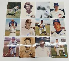 CHICAGO CUBS PLAYER SIGNED PHOTO LOT (12)
