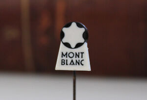 Vintage MONTBLANC Pin Badge Fountain Pen Collectable Old RARE Germany