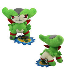 Cute ! Pokemon Virizion 12cm Soft Plush Stuffed Doll Toy