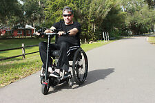 Pop n Drop ! Ride a power scooter with your wheelchair! (Scooter not included)