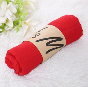 165*45cm NEW Fashion Women Long Soft Wrap Lady Shawl Chiffon Silk Scarf Scarves