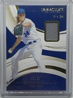 2020 Immaculate Noah Syndergaard Patch 10/99