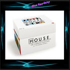 HOUSE COLLECTION COMPLETE SEASONS 1 2 3 4 5 6 7 & 8 ** BRAND NEW BLURAY BOXSET**