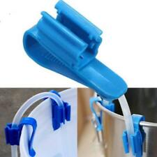 2X Home Brew Clip Pipe Syphon Tube Hose Flow Control Wine Making Clamp Holder J