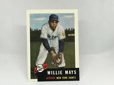 1991 Topps Archives '53 #244 Willie Mays New York Giants BB