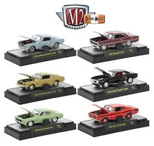 1:64 M2 Machines Detriot Muscle R37 = COMPLETE SET OF of 6 *CHANCE AT CHASE CAR*