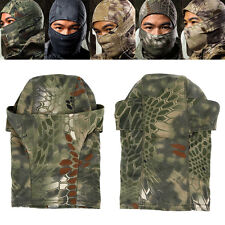 Tactical Outdoor Airsoft Quick-drying Hood Balaclava Bicycle Full Face Mask DW