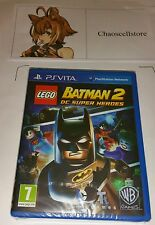 Lego Batman 2 DC PSV NUEVO SELLADO UK PAL juego Sony PlayStation Vita PS Vita