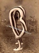 A Circus Contortionist - circa 1880 - Historic Photo Print