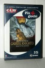GABRIEL KNIGHT 3 GIOCO USATO BUONO STATO PC CDROM VERSIONE ITALIANA GD1 42500