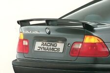 GENUINE BMW E46 SEDAN RACING DYNAMICS COMPETITION BOOT SPOILER. TRUNK WING