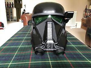 Star Wars Rogue One Death Trooper adult helmet