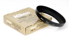 Original Boxed Plastic Bayonet Lens Hood Nikon HB-4 for AF Nikkor 20mm f/2.8