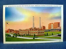 Postcard TN Kingsport Admin Building Plant Tennessee Eastman Corporation