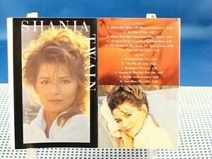 SHANIA TWAIN - The Woman In Me - NEAR MINT 1995 Cassette - Canada