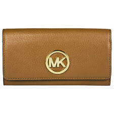 Michael Kors Fulton Caryall Wallet in Brown