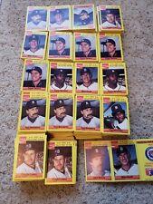 Huge Lot Of 1987 MSA Coca-Cola Detroit Tigers Booklet Cards, Over 400!