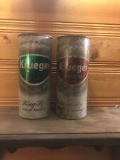 Nice set of Krueger Ale & Beer 16 Oz Flat Top Cans