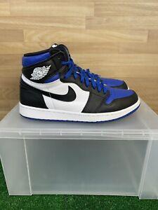 Jordan 1 High OG Royal Toe Size 10 Pre-Owned