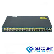 Cisco Catalyst WS-C2960S-48TS-S Port Gigabit Ethernet Managed Network Switch