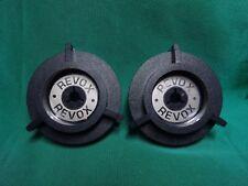 2 x  Einsätze(Ringe!) mit Beschriftung Revox für NAB Adapter