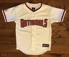 Washington Nationals Majestic MLB Genuine Merchandise Sewn Jersey Youth Medium