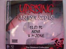 UPRISING - 13.07.95 - NOYA & M-ZONE - OLDSKOOL CD
