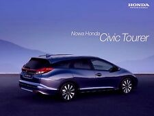 Honda Civic Tourer 2014 catalogue brochure polonais Poland rare